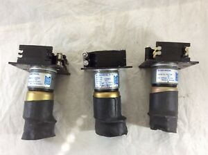 LOT 3x Watson Marlow Peristaltic Pump Head Motor 15VDC 75:1 S2-OEM SPECIAL