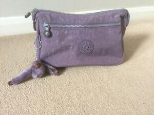 Kipling lilac Pupppy washbag, toiletry, make up bag
