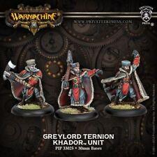 WARMACHINE Khador PIP33025 Greylord Ternion (3) NEW