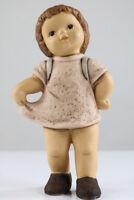 Goebel Porzellan Figur Nina mit Rucksack Serie Nina & Marco