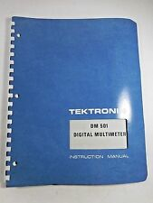 Tektronix Manual For DM 501 Digital Multimeter 070-1446-00