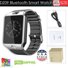 DZ09 Bluetooth Smart Watch GSM Phone + Camera SIM Card For Android IOS Phones