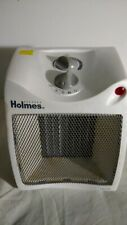Holmes Compact Ceramic Heater Fan-Forced.color white condition used