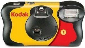 Kodak Fun Saver 27 +12 Disposable Camera See Description
