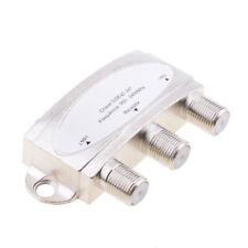 Waterproof 2X1 Satellite DiSEqC Multi-Switch FTA Dish LNB LNBF -White