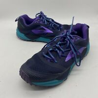 [VG+/Excellent] Womens 9.5 B Brooks Cascadia 12 Purple Trail Running Shoes