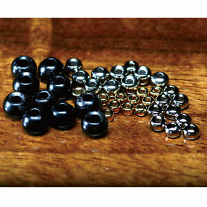 Hareline Tungsten Beads Fly Tying Materials - All Varieties