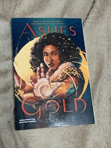 ASHES OF GOLD (Wings of Ebony 2) J. ELLE YA ARC Advanced Readers Copy Proof 1/22