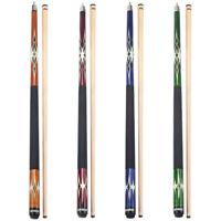 """18-21oz 58/"""" 2-Piece Blue Fiberglass Graphite Composite Billiard Pool Cue Stick"""