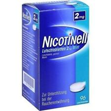 NICOTINELL Lutschtabletten 2 mg Mint 96 St PZN 7006454