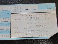 Judas Priest ticket stub Oct 14 1988 Great Western Forum Slayer Cinderella