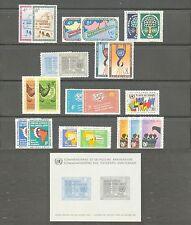 UN-New York # 77-99, 1960-1961 Annual Sets, Unused NH
