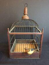 Antique Canary Parakeet Bird Cage