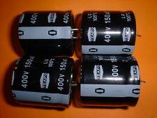 4x Elko 150µF / 400V 105°C 30x30mm snap-in 150uF