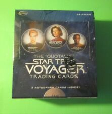 The Quotable Star Trek Voyager Trading Card  Box