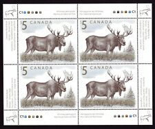 2003 Canada SC# 1693i Canadian Wildlife - Moose - Souvenir Sheet Lot 131 M-NH