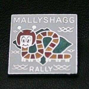 MOTORCYCLE Pin Badge MALLYSHAGG RALLY