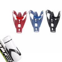 1Pc Carbon Fiber Road Bicycle Bike Cycling Water Bottle Drinks Holder Rack Cage.