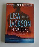 Suspicions - by Lisa Jackson - MP3CD - Audiobook