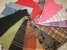 12 Acrylic Cutter Scarves for Wearing, Felting, Crafting, Sewing Box #8