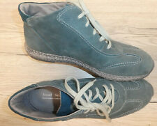 Josef Seibel !!  Damen Leder- Stiefelette Boots Gr. 40,5 (41) // blau grün