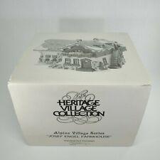 Department 56 Alpine Village Series Joseh Engel Farmhouse 5952-8 1987