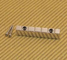 NUT-N-2NI Nickel 6-string Lap Steel Style Raised Guitar Nut w/ Screws 47mm