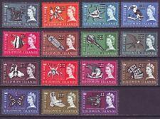 Solomon Islands 1966 SC 149a-166a MNH Set
