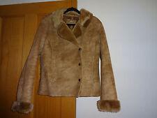 Ladies, caramel M & S coat size M (12)