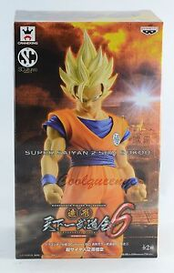Banpresto Dragonball Z SCultures Big 6 Super Saiyan 2 Son Goku Gokou