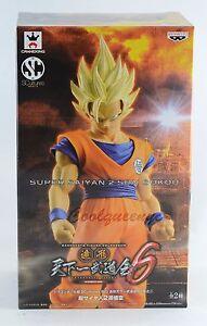 Banpresto Dragonball Z SCultures Big 6 Super Saiyan 2 Son Goku Gokou