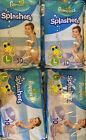 7X Pampers Splashers Disposable Swim Pants Large 31 lbs Up 10 Per Pkg 70 Total