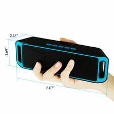 Super Bass Mini USB Speaker Wireless Portable Stereo Bluetooth TF/FM AUX Input