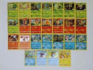 2021 Pokemon cards McDonalds 25th Anniversary Complete your Set Holos Non Holos