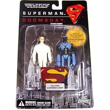 SUPERMAN VS DOOMSDAY Figurine LEX LUTHOR & SUPERMAN'S ROBOT 12 cm DC DIRECT