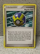 CARTE POKEMON RAPIDE BALL 86//100 HOLO REV NEUVE VF