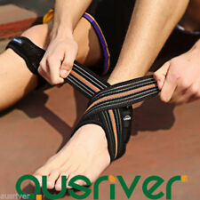 Blue Ankle Braces/Orthosis Sleeves