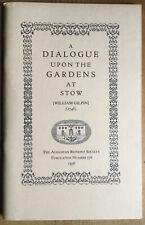 William Gilpin. A Dialogue Upon the Gardens at Stow.  1976