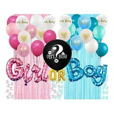 Complete Gender Reveal Party Supplies
