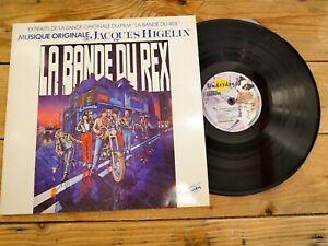 JACQUES HIGELIN LA BANDE DU REX LP 33T VINYLE EX COVER EX ORIGINAL 1980