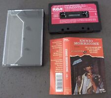 CASSETTE K7 AUDIO TAPE ENNIO MORRICONE WESTERN FILMS VOL. 1 VERSIONS ORIGINALES