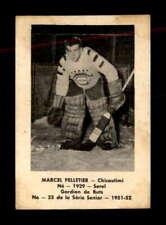 1951 Laval Dairy QSHL #33 Marcel Pelletier  G/VG X1816177