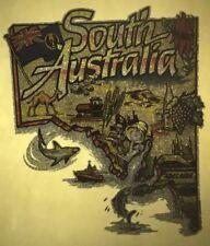 South Australia vintage retro tshirt print, Tourist, 1980s, Australiana