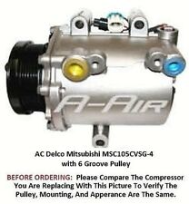 Chevrolet Venture Rendezvous 3.4L  01 - 05 OEM Delco MSC105CVSG-4  AC Compressor