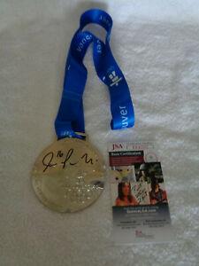 Joe Pavelski SIGNED 2010 Olympic Silver Medal JSA COA