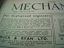 mechanics magazine complete february 27th 1942