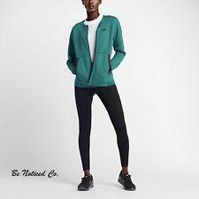 Nike Vêtements de Sport Molleton Tech Femmes VESTE M Vert Noir Gym Décontracté