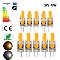 Non-Dimmable Mini G4 COB LED Light Bulb 3W 6W Lamp AC/DC 12V Warm/Cold White