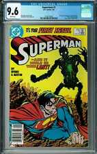 Superman #1 CGC 9.6 (Jan 1987, DC) First Issue, Origin & 1st app. new Metallo
