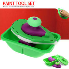 Point Paint Pad Painting Roller Tray Sponge 7PCS/Set Brush Home Wall Decor Tool